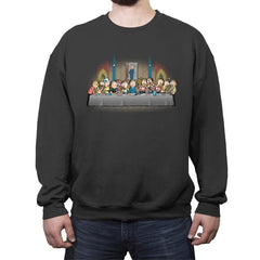 Morty's dinner - Crew Neck Sweatshirt - Crew Neck Sweatshirt - RIPT Apparel