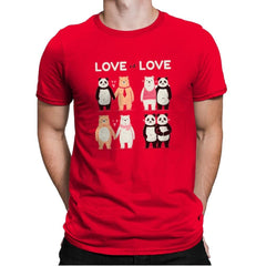 Love Is Love  - Mens Premium - T-Shirts - RIPT Apparel