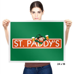 St. Paddy's Exclusive - St Paddys Day - Prints - Posters - RIPT Apparel