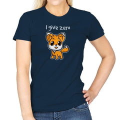 Zero Fox Given - Womens - T-Shirts - RIPT Apparel