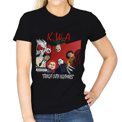 Straight Outta Nightmares - Best Seller - Womens - T-Shirts - RIPT Apparel
