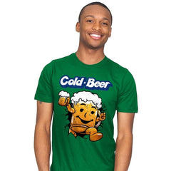 Cold Beer - Mens - T-Shirts - RIPT Apparel