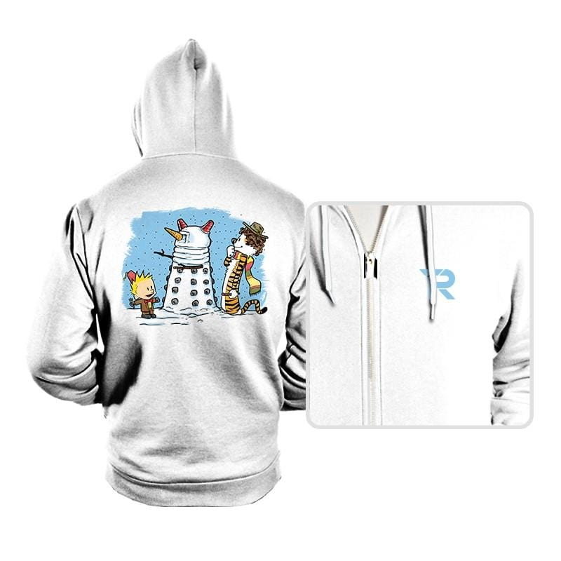 The Snow Dalek - Hoodies - Hoodies - RIPT Apparel