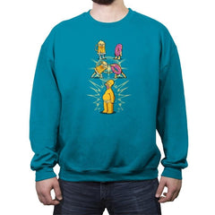 Homer Fusion - Crew Neck Sweatshirt - Crew Neck Sweatshirt - RIPT Apparel