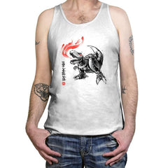 Robot Lizard King Exclusive - Tanktop - Tanktop - RIPT Apparel