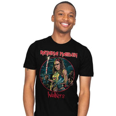 The Katana Maiden - Record Collector - Mens - T-Shirts - RIPT Apparel