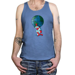 Saving the Planet - Tanktop - Tanktop - RIPT Apparel