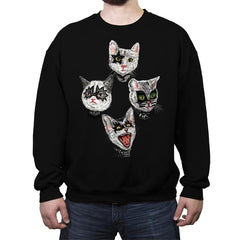 MEOWTALMORPHOKISS - Crew Neck Sweatshirt - Crew Neck Sweatshirt - RIPT Apparel