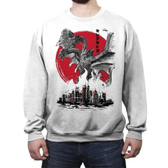 The King of Terror Attack - Crew Neck Sweatshirt - Crew Neck Sweatshirt - RIPT Apparel