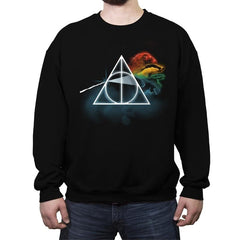 Magic Triangle - Crew Neck Sweatshirt - Crew Neck Sweatshirt - RIPT Apparel