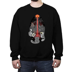 The Eye of Meowdor - Crew Neck Sweatshirt - Crew Neck Sweatshirt - RIPT Apparel