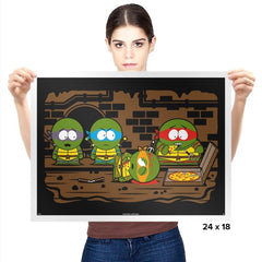 Sewer Park - Prints - Posters - RIPT Apparel