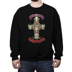 Appetite For Power - Crew Neck Sweatshirt - Crew Neck Sweatshirt - RIPT Apparel