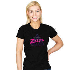 Zelda Synthwave - Womens - T-Shirts - RIPT Apparel