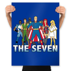 Cartoon Seven - Prints - Posters - RIPT Apparel