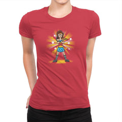 WonDaria Woman Exclusive - Womens Premium - T-Shirts - RIPT Apparel