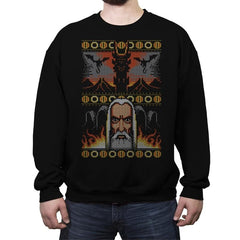 One Christmas to Rule Them All  - Crew Neck Sweatshirt - Crew Neck Sweatshirt - RIPT Apparel
