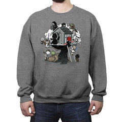 Dark Side Club - Crew Neck Sweatshirt - Crew Neck Sweatshirt - RIPT Apparel