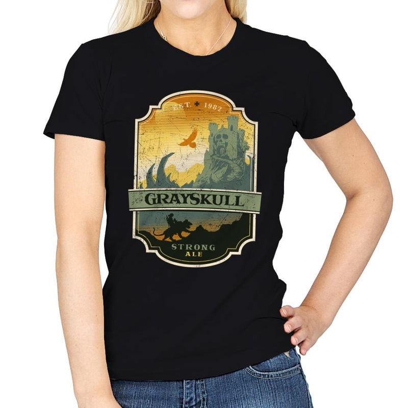Grayskull Strong Ale - Womens - T-Shirts - RIPT Apparel