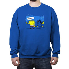 Just Keep Askin' - Crew Neck Sweatshirt - Crew Neck Sweatshirt - RIPT Apparel