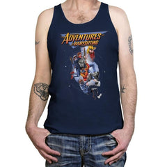 Steve's Adventure in Babysitting - Tanktop - Tanktop - RIPT Apparel