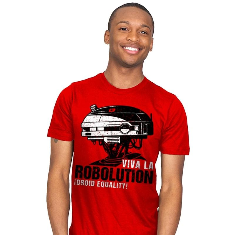 Viva la Robolution - Mens - T-Shirts - RIPT Apparel