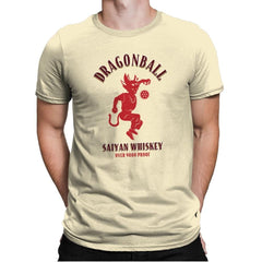 Dragonball Whiskey - Kamehameha Tees - Mens Premium - T-Shirts - RIPT Apparel