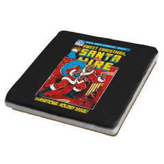 Santa For Hire - Coasters - Coasters - RIPT Apparel