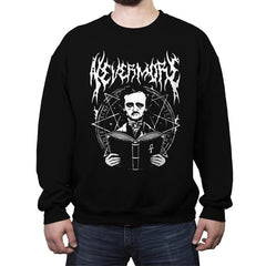 Rocking Nevermore - Crew Neck Sweatshirt - Crew Neck Sweatshirt - RIPT Apparel