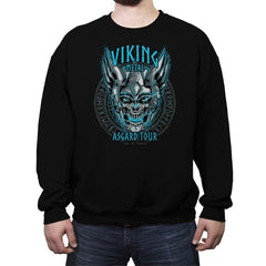 Viking Metal - Crew Neck Sweatshirt - Crew Neck Sweatshirt - RIPT Apparel