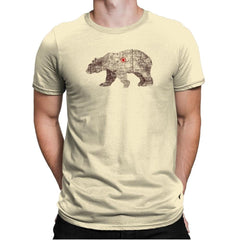 Bearlin - Back to Nature - Mens Premium - T-Shirts - RIPT Apparel