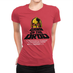 Dawn Of The Droid - Anytime - Womens Premium - T-Shirts - RIPT Apparel