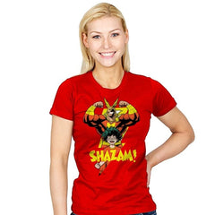 SHAZAM! - Womens - T-Shirts - RIPT Apparel