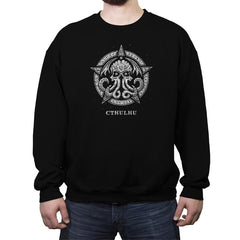 Cthulhu - The Prophet of Doom - Crew Neck Sweatshirt - Crew Neck Sweatshirt - RIPT Apparel