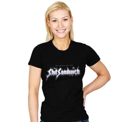Shark Sandwich - Womens - T-Shirts - RIPT Apparel