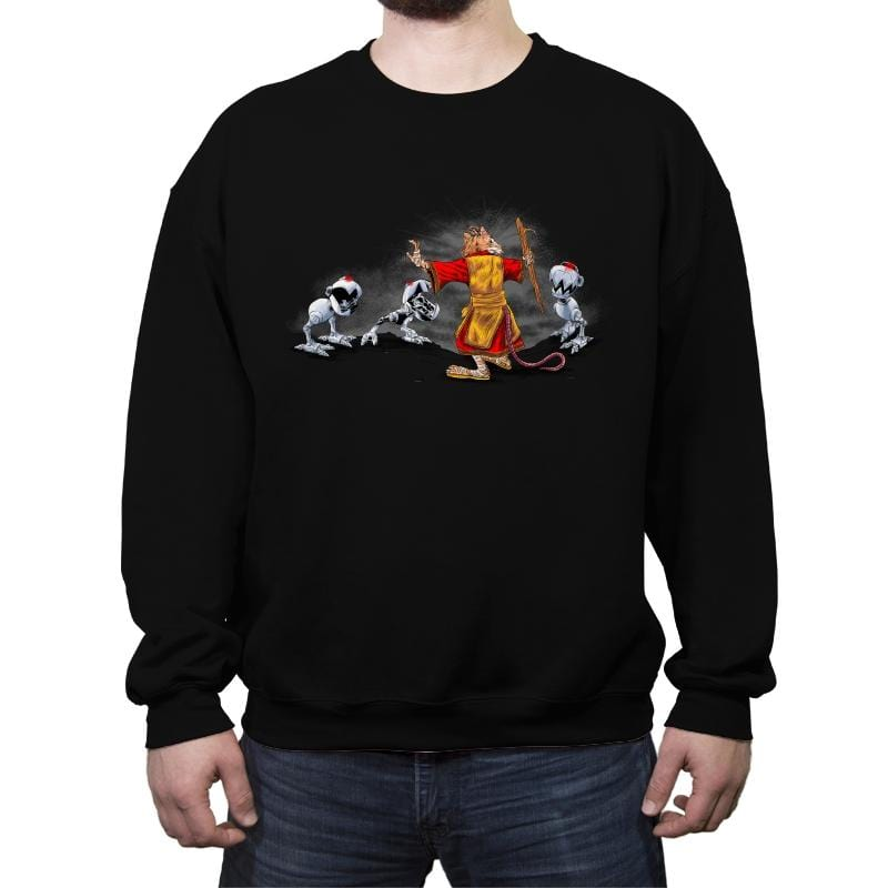 Mouser Tamer - Crew Neck Sweatshirt - Crew Neck Sweatshirt - RIPT Apparel