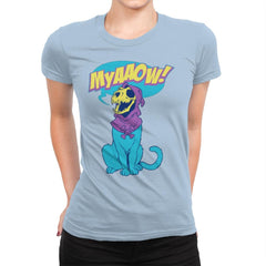 Skelemeow Exclusive - Womens Premium - T-Shirts - RIPT Apparel
