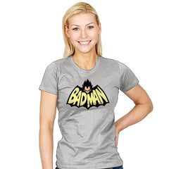 Badman - Womens - T-Shirts - RIPT Apparel