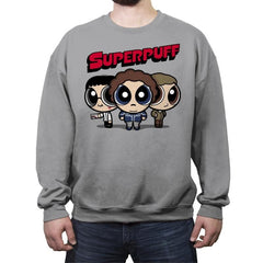 Superpuff! - Crew Neck Sweatshirt - Crew Neck Sweatshirt - RIPT Apparel