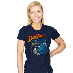 DocTales Reprint - Womens - T-Shirts - RIPT Apparel
