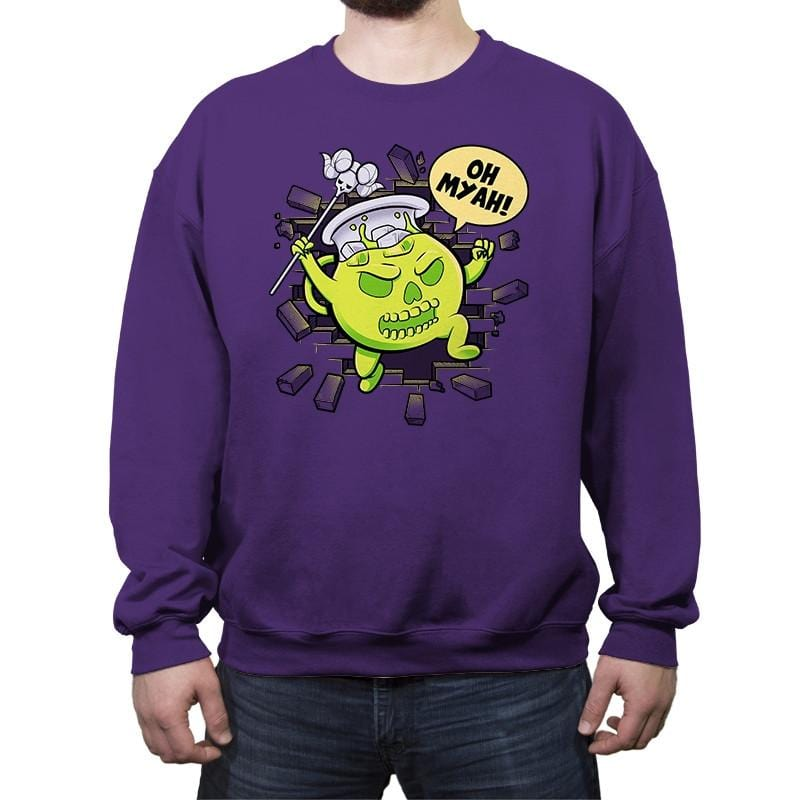 Masters of the Koolaidverse - Crew Neck Sweatshirt - Crew Neck Sweatshirt - RIPT Apparel