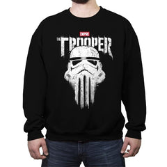 THE TROOPER - Crew Neck Sweatshirt - Crew Neck Sweatshirt - RIPT Apparel