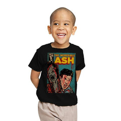 The Incredible Ash - Youth - T-Shirts - RIPT Apparel