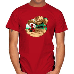 An Amazing Sand Castle - 80s Blaarg - Mens - T-Shirts - RIPT Apparel