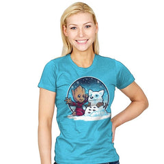 Snow Guardians - Womens - T-Shirts - RIPT Apparel