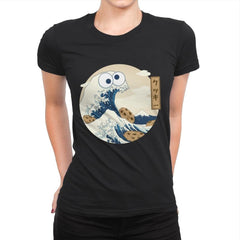 Cookiegana Wave - Womens Premium - T-Shirts - RIPT Apparel