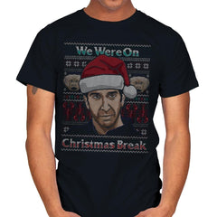 Christmas Break Up - Mens - T-Shirts - RIPT Apparel