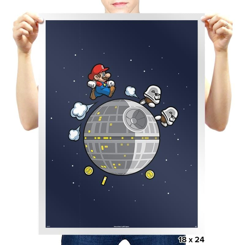 A Galaxy Far Far Away - Prints - Posters - RIPT Apparel