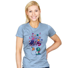Many Bubbles - Womens - T-Shirts - RIPT Apparel