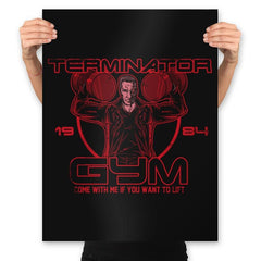 Terminator Gym - Prints - Posters - RIPT Apparel